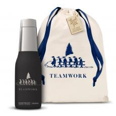Steel Tumblers & Bottles - Teamwork Gift Svelte 20oz Tumbler