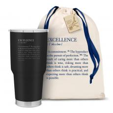 Executive Drinkware - The Big Joe - Excellence Definition 30oz. Stainless Steel Tumbler