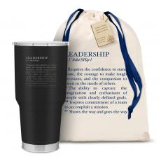 Executive Drinkware - The Big Joe - Leadership Definition 30oz. Stainless Steel Tumbler