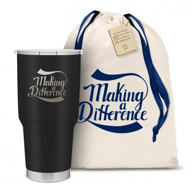 The Big Joe - Making a Difference 30oz. Stainless Steel Tumbler