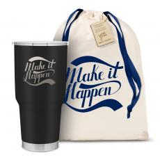 The Big Joe - Make it Happen 30oz. Stainless Steel Tumbler