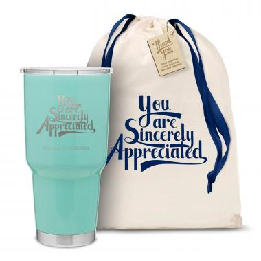 The Big Joe - Sincerely Appreciated 30oz. Stainless Steel Tumbler