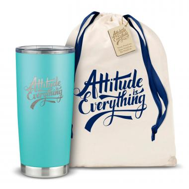 The Joe - Attitude is Everything 20oz. Stainless Steel Tumbler