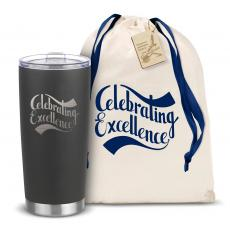 Steel Tumblers & Bottles - The Joe - Celebrating Excellence 20oz. Stainless Steel Tumbler