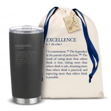 Executive Drinkware - The Joe - Excellence Definition 20oz. Stainless Steel Tumbler
