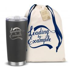 Steel Tumblers & Bottles - The Joe - Leading by Example 20oz. Stainless Steel Tumbler