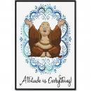 Budi Attitude is Everything Inspirational Art