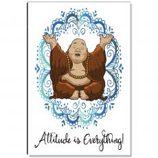 Newest Additions - Budi Attitude is Everything Inspirational Art