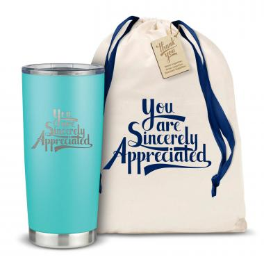 The Joe - Sincerely Appreciated 20oz. Stainless Steel Tumbler