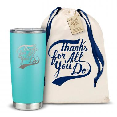 The Joe - Thanks for All You Do 20oz. Stainless Steel Tumbler