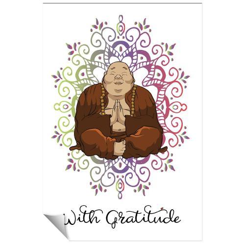 Budi Gratitude Inspirational Art