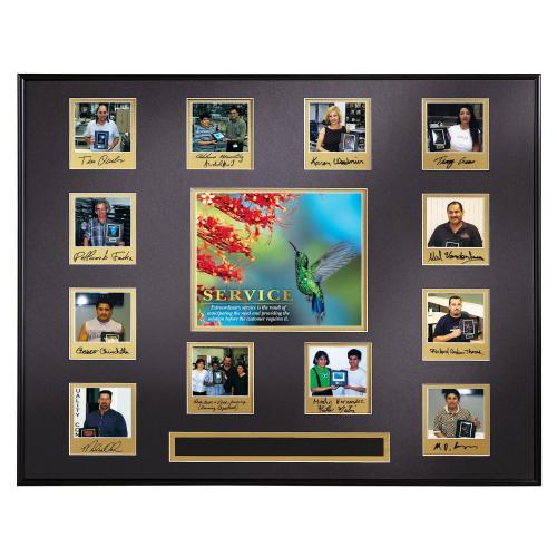 Service Hummingbird Perpetual Award Plaque