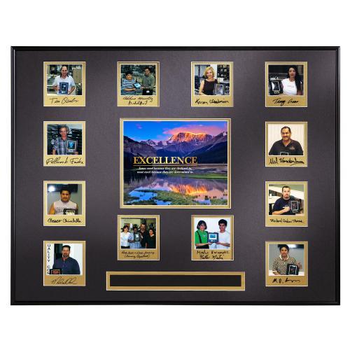 Excellence Mountain Perpetual Award Plaque