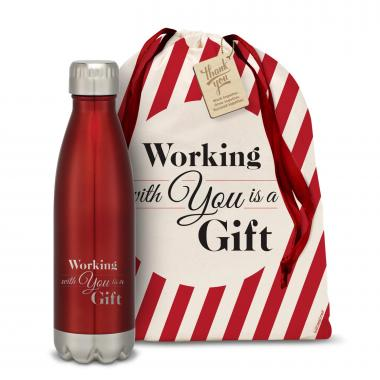 Working With You is a Gift Swig 16oz Bottle