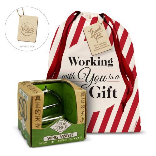 Ying Yang Brain Teaser Holiday Gift Set