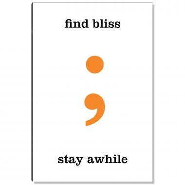 Find Bliss Inspirational Art