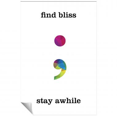 Find Bliss Geometry Inspirational Art