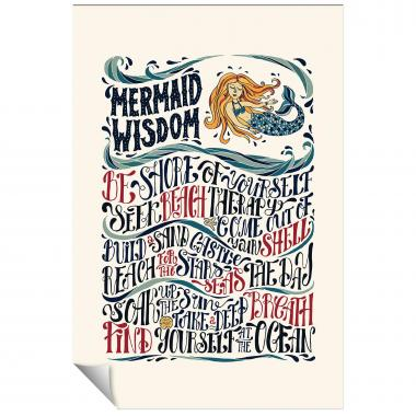 Mermaid Wisdom Inspirational Art