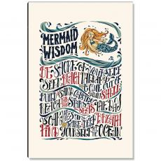 Inspirational Art - Mermaid Wisdom Inspirational Art