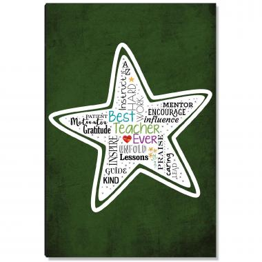 Teacher Star Inspirational Art