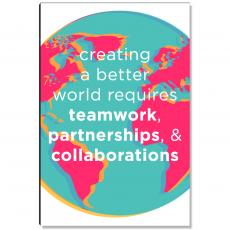 Workplace Wisdom - A Better World Inspirational Art