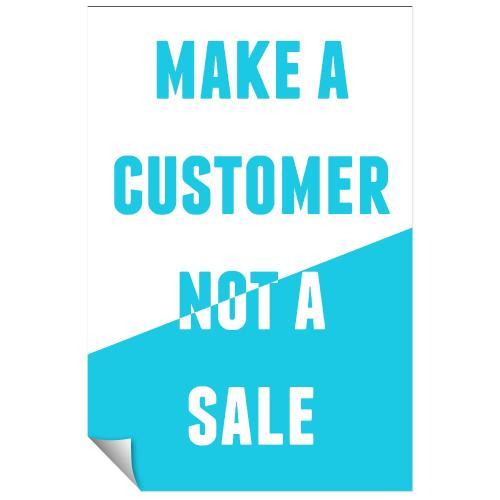 Make a Customer Inspirational Art