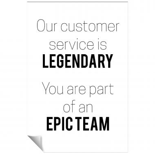 Epic Team Inspirational Art
