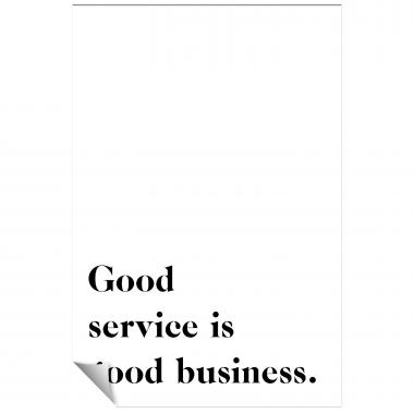 Good Service Inspirational Art