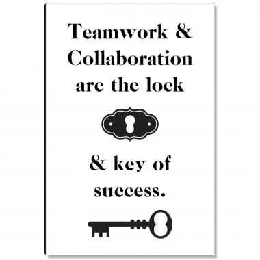 Key Of Success Inspirational Art