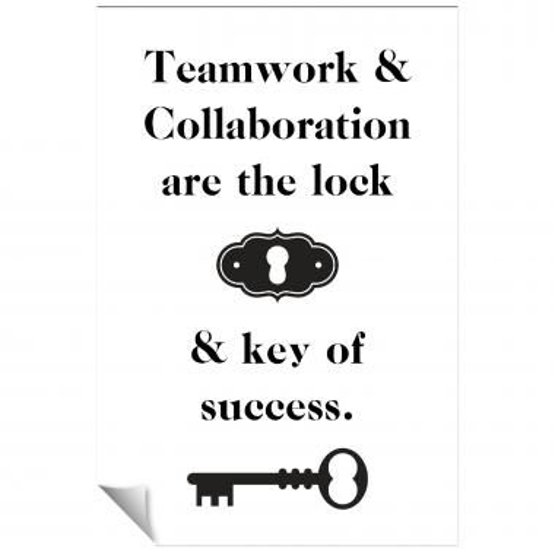 Key Of Success Inspirational Art