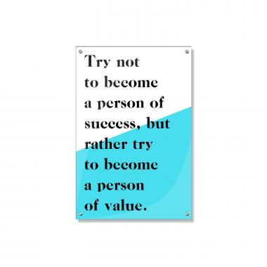 Person Of Value Inspirational Art