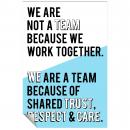 We Are A Team Inspirational Art