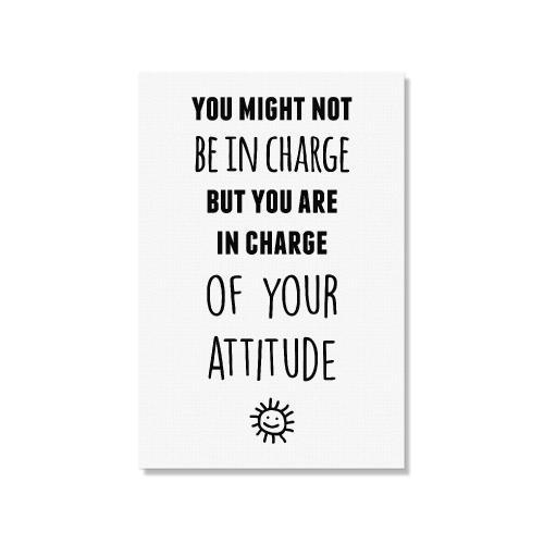You Attitude Inspirational Art