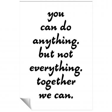 You Can Do Anything Inspirational Art