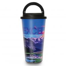Excellence Mountain 16oz Travel Mug