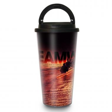 Teamwork Rowers 16oz Travel Mug