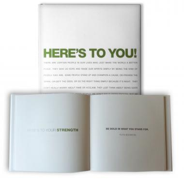Here's To You Book