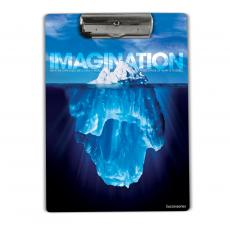 Imagination Iceberg Acrylic Clipboard