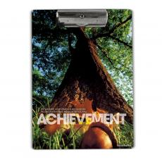 Achievement Oak Acrylic Clipboard