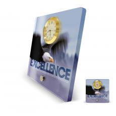 Excellence Eagle Acrylic Desktop Clock