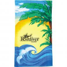 Towels - 14 lb./doz. Beach Scene Beach Towel