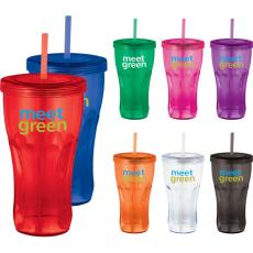Travel Mugs/Cups - Fountain Soda - 24-oz Tumbler with twist-on lid