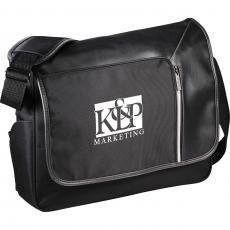 "Messenger Bags - Vault RFID Security 15"" Computer Messenger Bag"