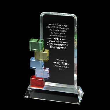 Cornerstone Excellence Crystal Award