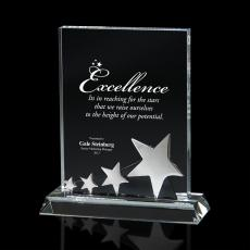 Metal, Stone and Cast Awards - Above and Beyond Crystal Star Award