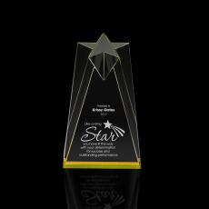 Sculpted Star Acrylic Award