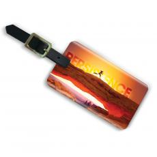 Persistence Runner Acrylic Luggage Tag