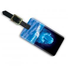 Imagination Iceberg Acrylic Luggage Tag