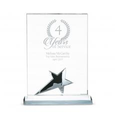 Metal, Stone and Cast Awards - Sales Crystal Star Award