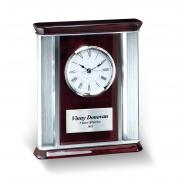 Rosewood Piano Finish Desktop Clock <span>(752491)</span> Executive Gift (752491), Executive Gifts